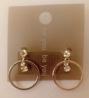 Be You small circle drop earrings (Code 3018)